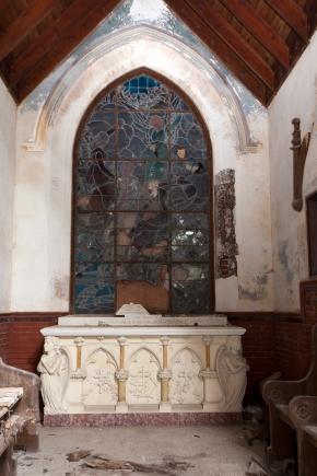 Belmont Chapel Stained Glass Window