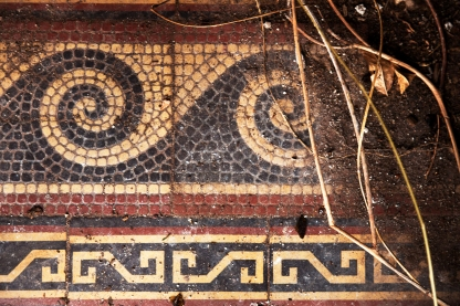 Belmont Chapel Mosaic floor detail