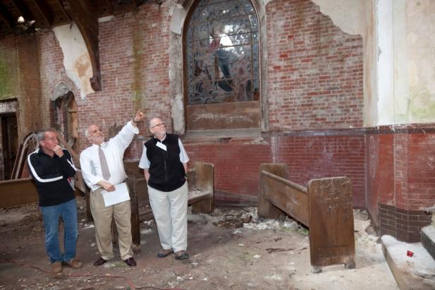 Belmont Chapel Site Visit May 8, 2013