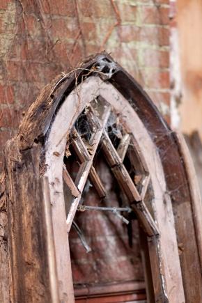 Belmont Chapel window detail