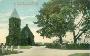 Belmont Chapel Antique Postcard